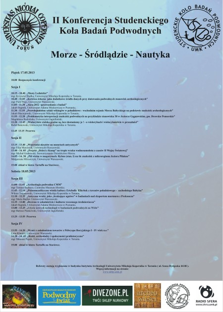 program konferencji 2013